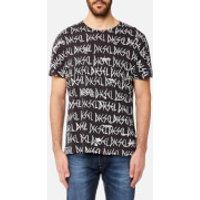 Diesel Mens Joe Printed T-Shirt - Black - L - Black
