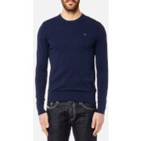 Diesel Mens Pablo Crew Neck Knitted Jumper - Blue - M - Blue
