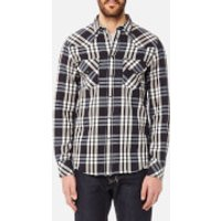 Diesel Men's East Long Sleeve Shirt - Blue - S - Blue