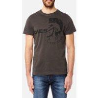 Diesel Men's Ulee T-Shirt - Grey - L - Grey