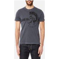 Diesel Men's Ulee T-Shirt - Blue - L - Blue