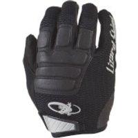 Lizard Skins Monitor HD MTB Gloves - Jet Black - S - Jet Black