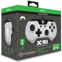 Licensed X91 90's Style Controller XBOX 1 & PC Controller - White - Pc Gifts