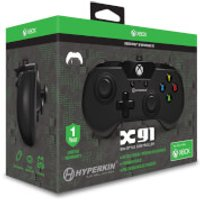 Licensed X91 90's Style Controller XBOX 1 & PC Controller - Black - Pc Gifts