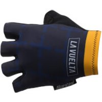 Santini La Vuelta 2017 Stage 19-20 Asturias Race Gloves - Blue/Yellow - S - Blue/Yellow