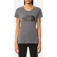 The North Face Womens Short Sleeve Easy T-Shirt - TNF Medium Grey Heather - L - Grey