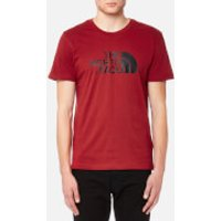 The North Face Mens Short Sleeve Easy T-Shirt - Cardinal Red - L - Red