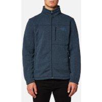 The North Face Mens Gordon Lyons Full Zip Fleece Jumper - Urban Navy Heather - S - Blue