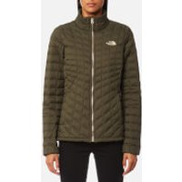The North Face Womens Thermoball Full Zip Jacket - New Taupe Green - M - Green