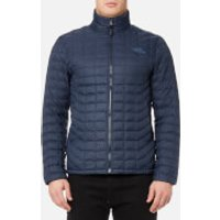 The North Face Mens Thermoball Full Zip Jacket - Urban Navy Stria - XL - Blue