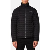 The North Face Mens Thermoball Full Zip Jacket - TNF Black Matte - XXL - Black
