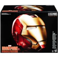 The Avengers Marvel Legends Iron Man Electronic Helmet (Full-Scale Size) - Electronic Gifts