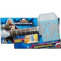 Marvel Avengers Thor: Ragnarok Thor Rumble Strike Hammer - Marvel Gifts