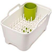 Joseph Joseph Wash and Drain Plus Washing Up Caddy - White/Green