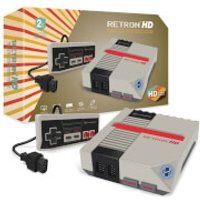 Hyperkin RetroN 1 HD Gaming Console - Grey - Video Games Gifts