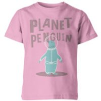 My Little Rascal Planet Penguin Kids' T-Shirt - Pink - 11-12yrs - Pink - Penguin Gifts