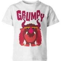 My Little Rascal Kids Grumpy White T-Shirt - 11-12 Years - White - Grumpy Gifts