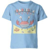 Crabzilla Kid's Blue T-Shirt - 11-12yrs - Blue