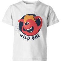 Wild One Kid's White T-Shirt - 7-8yrs - White