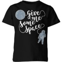My Little Rascal Kids Give Me Some Space Black T-Shirt - 7-8 Years - Black - Space Gifts