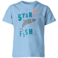 My Little Rascal Kids Star Fish Blue T-Shirt - 5-6 Years - Blue