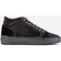 Android Homme Android Homme Men's Propulsion Mid Print Velvet Trainers - Deep Grey - UK 10 - Grey