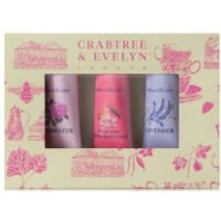 Crabtree and Evelyn Florals Hand Therapy Sample 3 x 25g