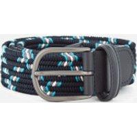 Andersons Men's Woven Fabric Belt - Navy - W36 - Navy