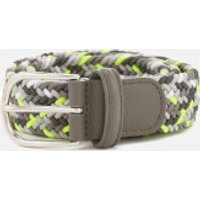 Andersons Men's Woven Fabric Belt - Grey Multi - W30 - Grey/Multi