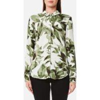 Selected Femme Womens Kamilo Long Sleeve Shirt - Whisper Green - EU 34/UK 6 - Green