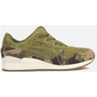 Asics Mens Gel-Lyte III Trainers - Martini Olive/Martini Olive - UK 8 - Green
