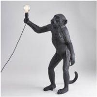 Seletti Standing Monkey Lamp - Black