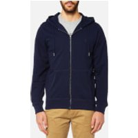 Joules Mens Coloured Loopback Zip Through Hoody - Midnight - L - Blue
