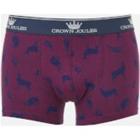 Joules Mens Animal Printed Boxer Shorts - Multi - XL - Multi