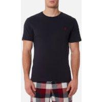 Joules Men's Short Sleeve Plain Crew Neck T-Shirt - French Navy - L - Navy