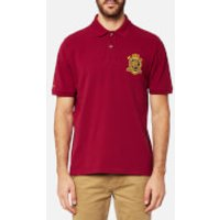 Joules Mens Just Joules Polo Shirt - Rhubarb - M - Red