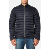 Barbour Mens Templand Quilted Jacket - Navy - S - Navy