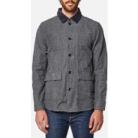 Barbour Mens Earmont Overshirt - Grey - L - Grey