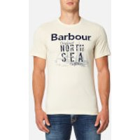 Barbour Mens Blade T-Shirt - Pearl - L - Stone
