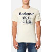 Barbour Mens Blade T-Shirt - Pearl - XL - Stone