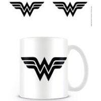 DC Originals Coffee Mug (Wonder Woman Mono Logo) - Wonder Woman Gifts