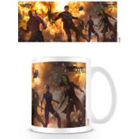 Guardians of the Galaxy 2 Coffee Mug (Explosive)