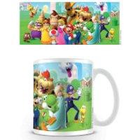 Super Mario Coffee Mug (Mushroom Kingdom) - Mushroom Gifts