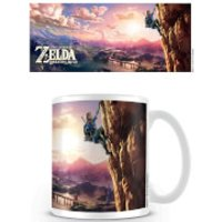 The Legend of Zelda: Breath of the Wild Coffee Mug (The Climb)