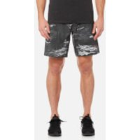 Reebok Mens CrossFit Speed Camo Board Shorts - Black - XL - Black