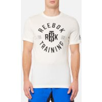 Reebok Men's Reebok Training Short Sleeve T-Shirt - Chalk - XL - White