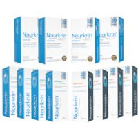 Nourkrin Woman Hair Growth Supplements 12 Month Bundle with Shampoo and Conditioner x4 (Worth PS103.