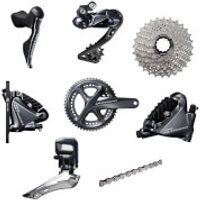 Shimano Ultegra R8070 Di2 11 Speed Groupset - Hydraulic Disc Brake - 175mm-11/30-34/50