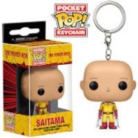 One Punch Man Saitama Pocket Pop! Key Chain