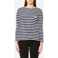 Maison Labiche Women's Mariniere Amour Long Sleeve T-Shirt - Blue/White - S - Blue/White